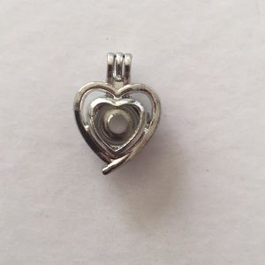 Jewelry - Double heart cage